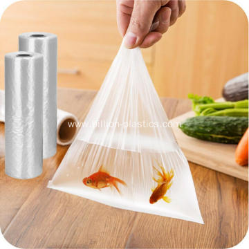 Clear Food Grade Plastic Bags On Roll Wholesale