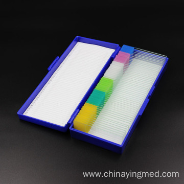 Plastic Microscope Slide Storage Box