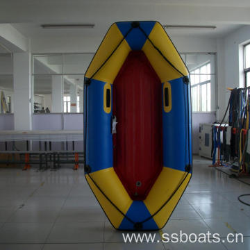 rowing fishing inflatable boat