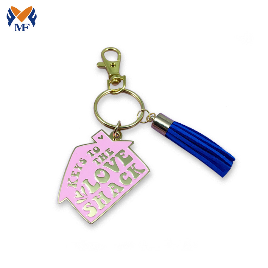 Customized Heart Shape Keychain