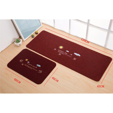 Wholesale pvc backing dust remove embroidery mat