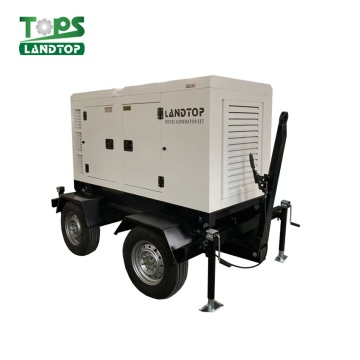 50KVA Cummins Silent Diesel Generator with Trailer