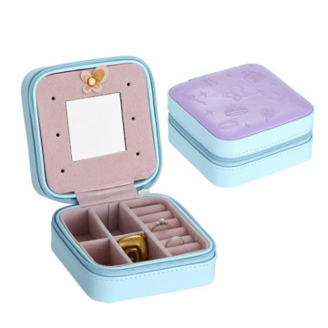 portable display cases PU jewelry box