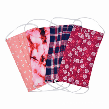 Non Woven Cotton Reusable Washable Fabric Face Mask