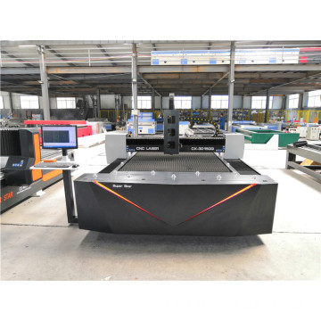 4x8feet fiber cnc laser metal cutting machine