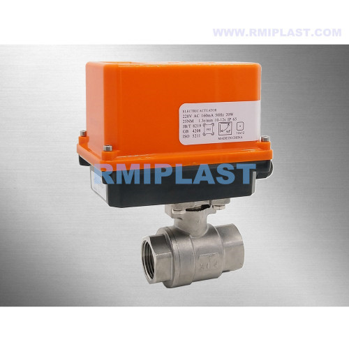 Electric Ball Valve Stainless Steel 304 316 NPT