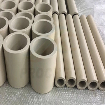 PEEK  Glass Fiber Hard-wearing Selflubricating Tube