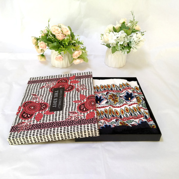 customise silk scarf gift box luxury