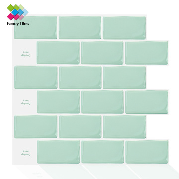 luxury Tile Stickers Peel and Stick Kitchen Backsplash
