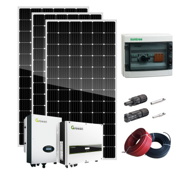 3kw 4KW 5kw On-Grid Solar Power System