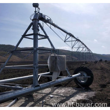 Hot Dip Galvanization Towable Pivot Irrigation For Sale
