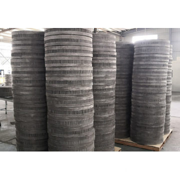 Stainless steel wire mesh corrugated packing