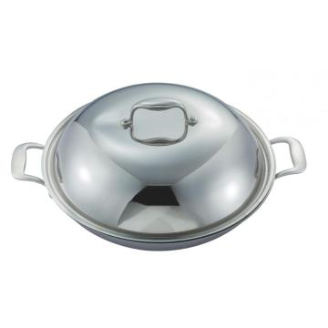 3 ply stainless steel Wok