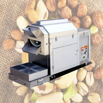 Seed Roaster For Sesame Chickpeas Peanut Commercial Multifunction Nut Baking Machine Automatic Fry