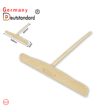 crepe spreader wooden stick crepe maker tool