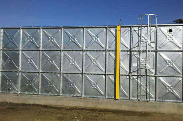 Anti-corrosion Steel Panel Water Tank
