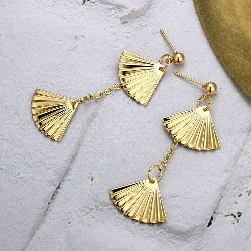 Gold Earrings For Girls