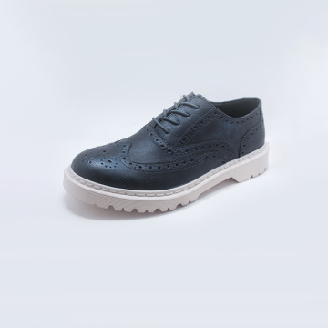 OEM Male Rubber Sole Mens Casual Leather Shoes