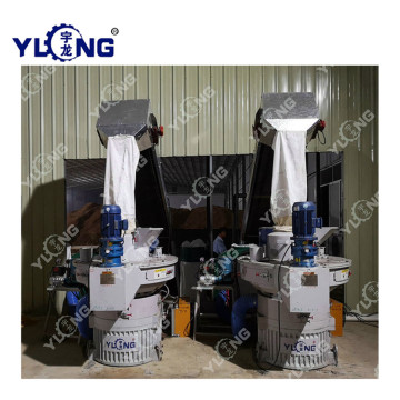 Customized Color 90kw Wood Sawdust Pellet Machine