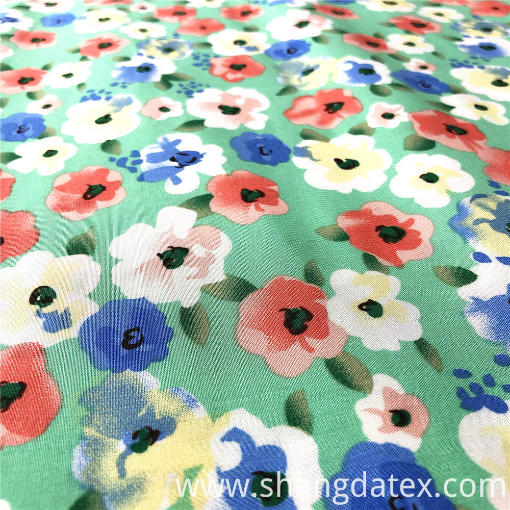 Rayon Printed 45s Tiny Flower