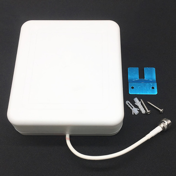 Indoor panel antenna 800-2500mhz internal panel antenna for WIFI GSM 3G DCS CDMA cell phone signal repeater booster