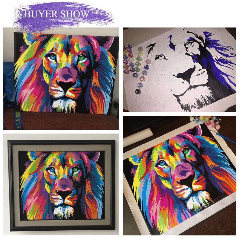 25彩色狮子头