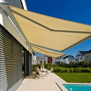 manual waterproof retractable awning