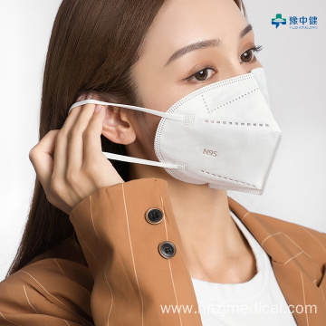 Non Woven Fabric Medical Protective Earloop Face Mask