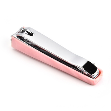 Hot sale cute pink nail tools stainless steel nail clipper