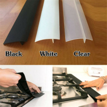 """21"""" Silicone Kitchen Stove Counter Gap Cover Oven Guard Spill Seam Filler Kitchen Baffle Seals Heat Resistant"""