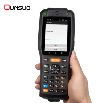 Handheld android pda 3505 with NFC RFID reader