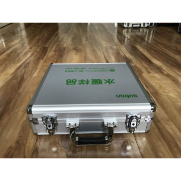 Square Cornor Aluminum Case with Single Color Printing