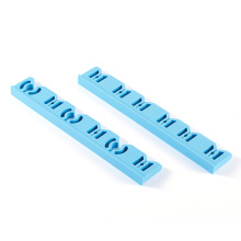 Medical silicone protective card strip