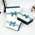 Romantic Bow Knot Ribbon Chocolate Paper Box