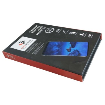 high-end tempered glass protector gift box