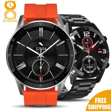 2020 Top Brand Smart Watch Waterproof IP68 1.28 Full Round HD Screen ECG Detection Changeable Smartwatch Reloj Smart Bracelet