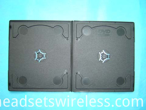 7mm short double black dvd case with design