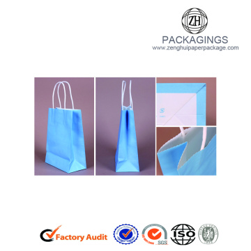 Fancy Paper Gift Bags With Pper Handle