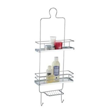 Hanging Shower Caddy With 2 Hooks