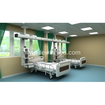 Double arms ceiling mounted surgical pendants