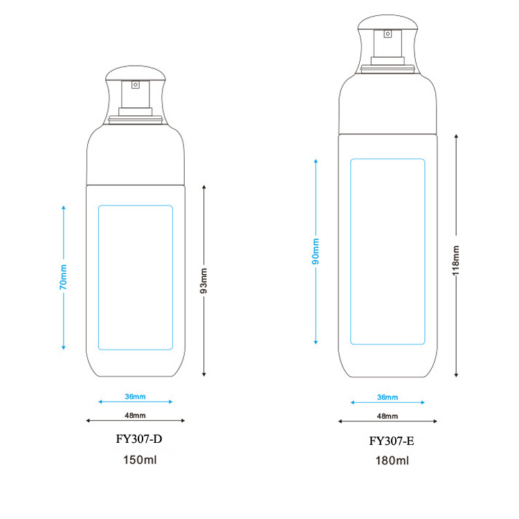 PETG plastic spray empty cosmetic bottle (5)
