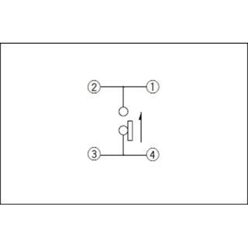 Low-profile Lever Switch without Positioning Pin