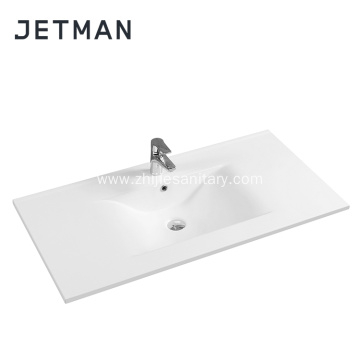 New Design Ceramic Drop Thin Wash Basin