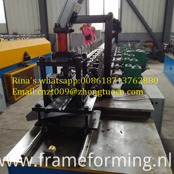 shutter door roll forming machines
