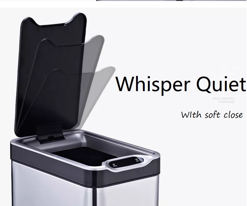 Wastebin Garbage Can with Soft Close