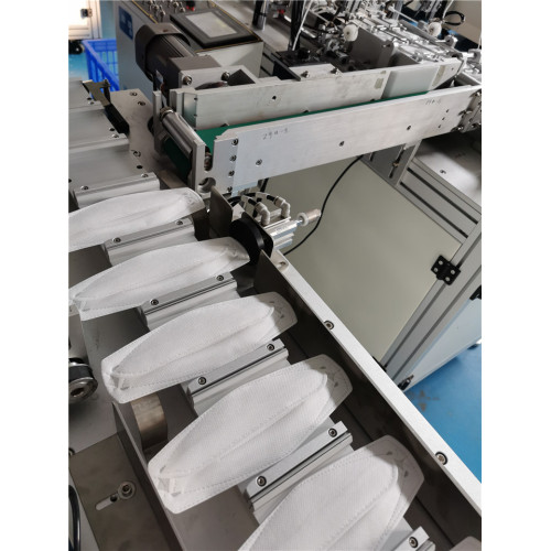 High Speed Automatic Fish Shape Mask Making Machine