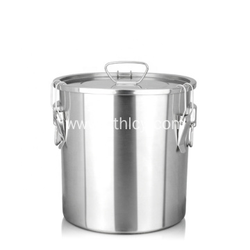 20L Premium Food Grade Airtight Stainless Steel Container