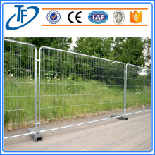 Standard Temporary Fencing Panel made from galvanised steel