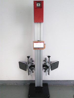 mobile 3D wheel alignment