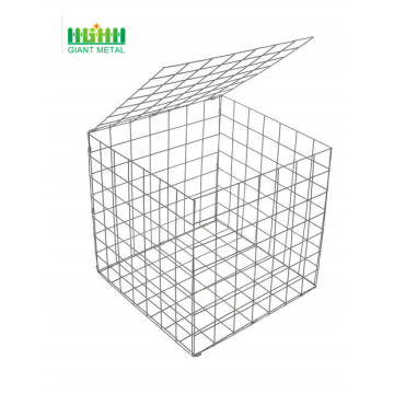 Galvanized welded gabion wire mesh